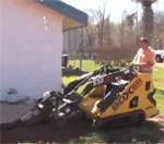 How to use a boxe mini skid steer