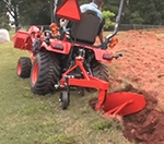 How To Plow With A Subcompact Kubota BX Tractor