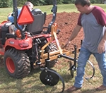 How To Make Garden Beds With A Kubota BX Subcompact Tractor